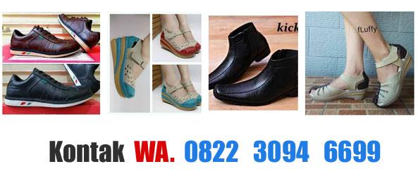 Distributor Sepatu Kickers Sandal Wanita Terbaru Harga Pantofel Kets Pria