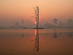 Anlong Veng sunrise, Cambodia