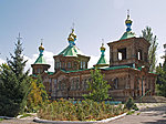 othodox church in Karakol