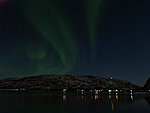 common Norwegian mountain aurora
