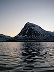 mountain on Senja island, Norway