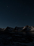 Tungeneset by night (with Orion)