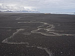 beach on Jan Mayen island, Norway
