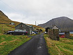 Múli, abandoned village with non-abandoned cars