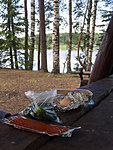 picnic at Kaiu lake