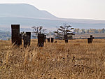 tombstones in Ahlat, Turkey