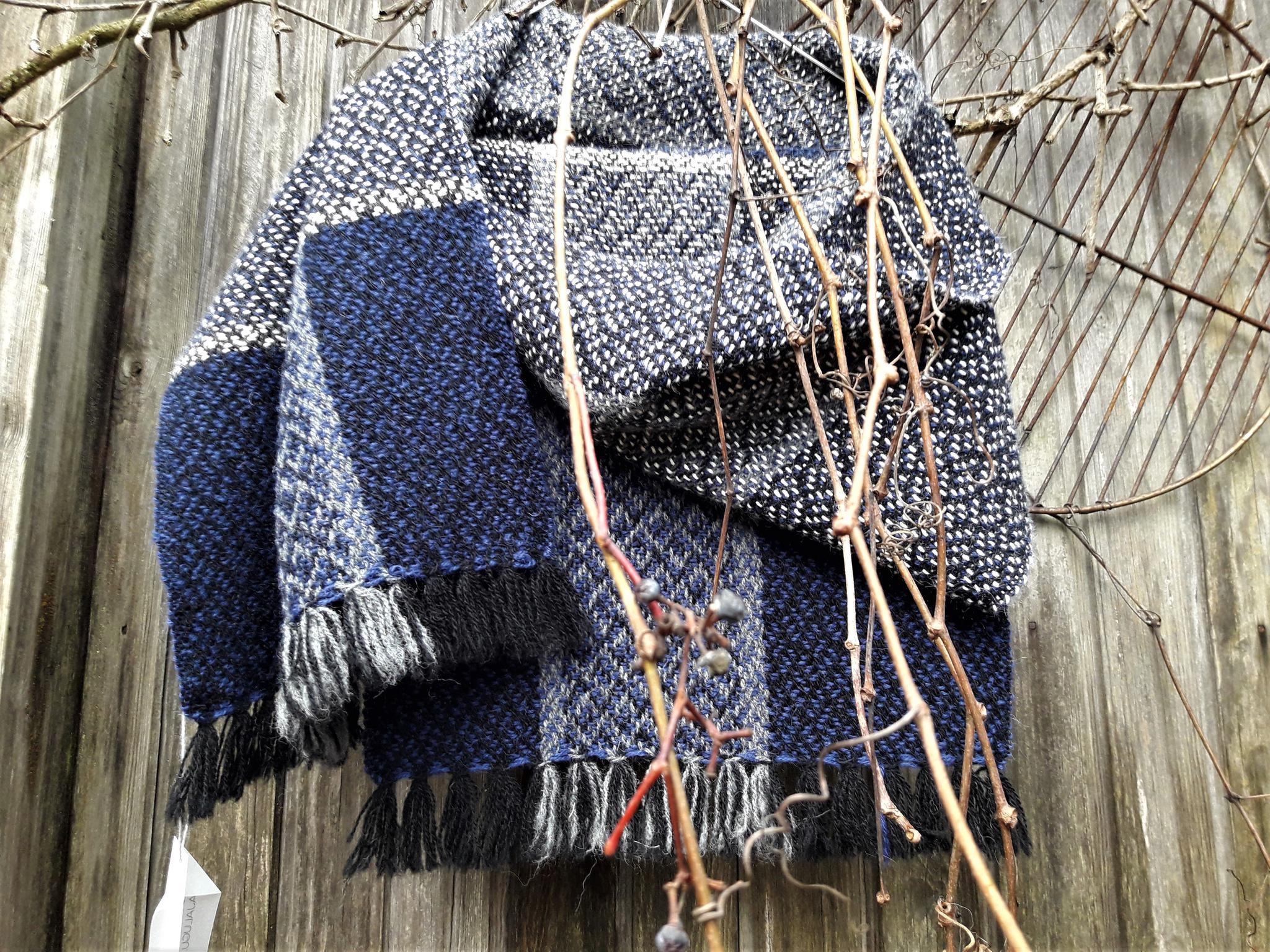 9e30f4b272a Sinine alpaka sall — Käsitöökursused, kangakudumine, lõngade ...