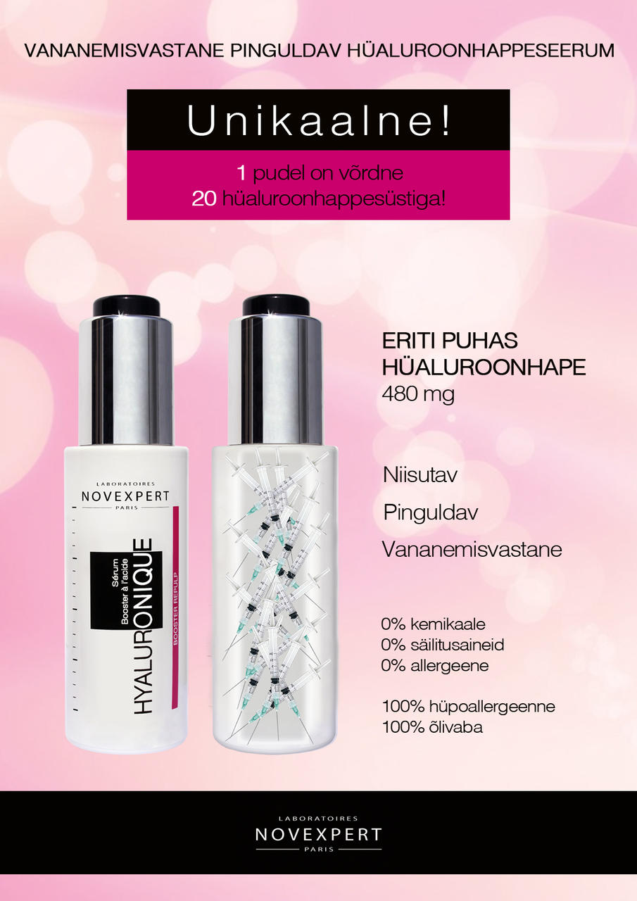 922e889df8e Seerumite komplekt: Booster Serum with Hyaluronic Acid + Booster with  Vitamin C