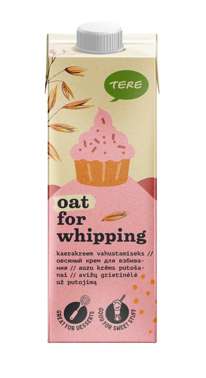 Oat cream for whipping 28%