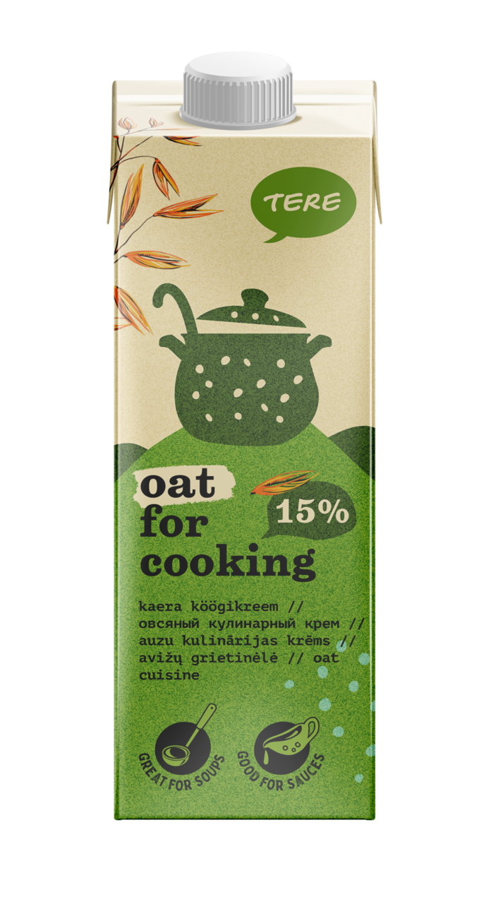 Oat cream for cooking 15%