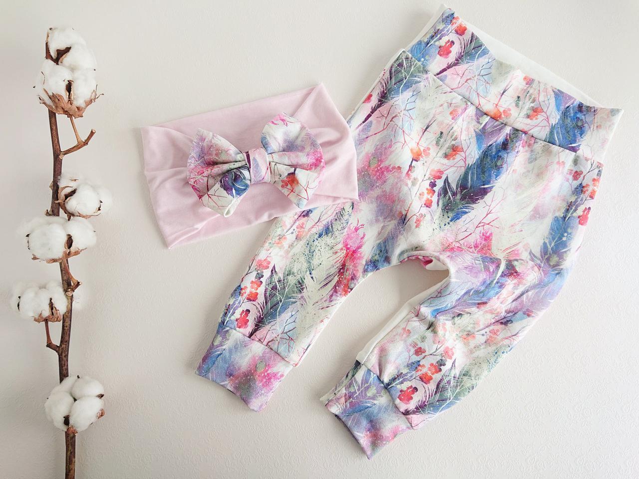 1319a949bf0 Beebitüdruku püksid roosa/kirju