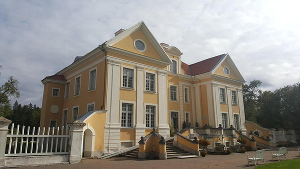 The current manor house at Palmse