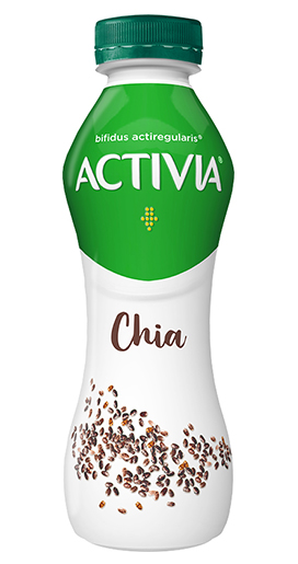 Jogurt chia seemnete ja ActiRegularis® bakteritega