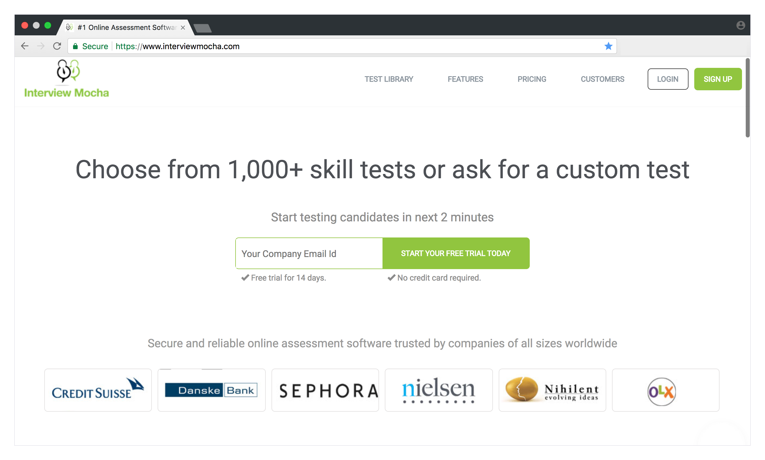INTERVIEW MOCHA. What Does This Tool Offer? InterviewMocha Is A Skills  Testing Platform With Over 1000 Skills Tests Templates