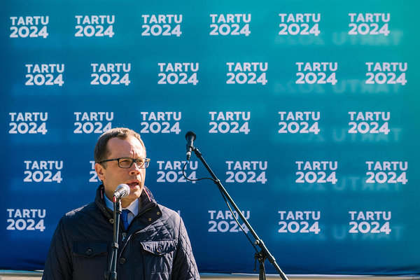 Twenty local governments of Southern Estonia signed Tartu 2024