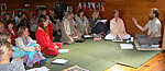 2007; Ingvar Ishwarananda lecture during a Kriya Yoga initiation. Photo: Piret Pakler