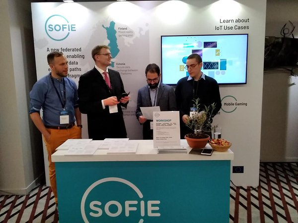 Team SOFIE at Decentralized, Oct 2019
