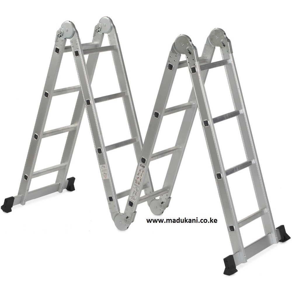 Aluminium Folding Ladders Choose Size Madukani