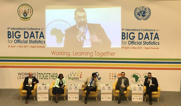 United Nations Big Data for Official Statistics conference, panel discussion.