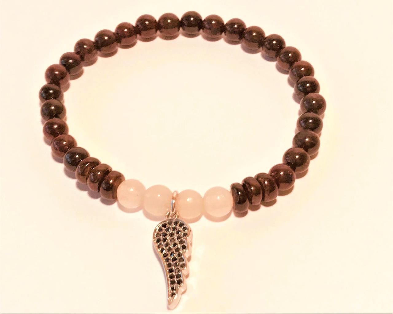 a55ef2bef4a Granaat ja roosa kvarts 19€ — Esoteerikapood Allikas: kristallid ...