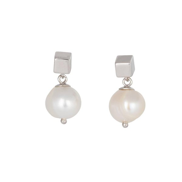 Earrings Solid pearl