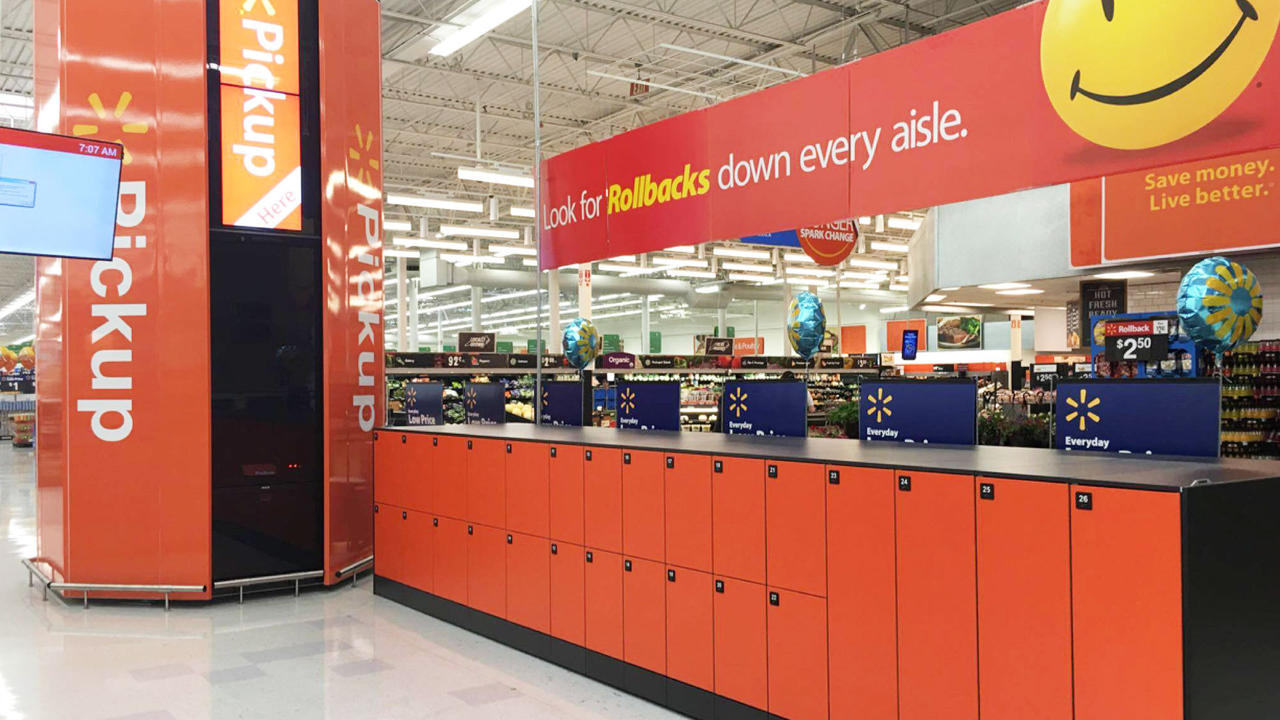 click and collect pickup automation solution in the usa