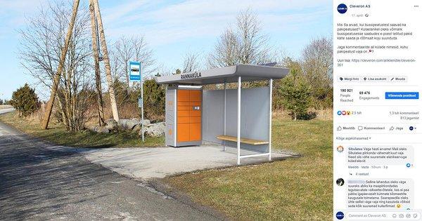Pakettiautomaatti Täynnä