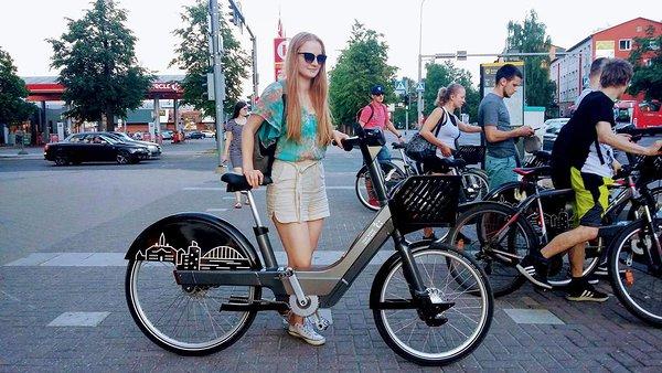 ab4008b544a Esimene Tartu rattaringluse avamise päev. Katsetasin nii tavalist ratast  kui ka elektriratast.