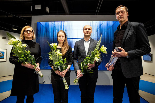 The daily Postimees awarded the title of Person of the Year to the authors of the Memorial to the Victims of Communism