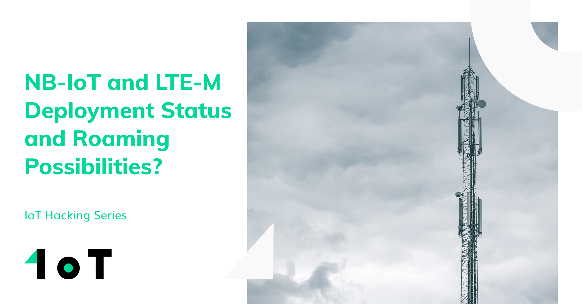 Article cover image for NB-IoT and LTE-M Deployment Status and Roaming Possibilities?