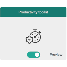 Article cover image for Product Release: New App on 1oT Terminal - Productivity Toolkit