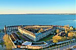 Tallinn's sea border is 46 km long, of which 330 meters is in front of the Paratrei sea fort.
