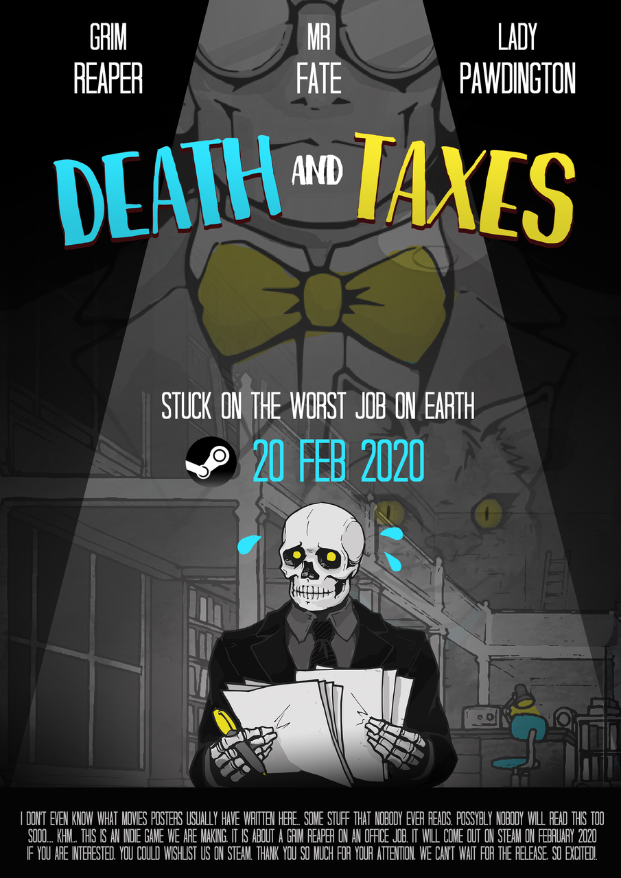 Death And Taxes Game