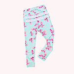 Floral angellic leggings with frills