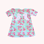 Children clothes: Angel wings toddler soft tunic dress