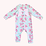 Baby onesie made of soft eco-certified fabric