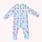 Baby sleepsuit made of soft eco-certified fabric