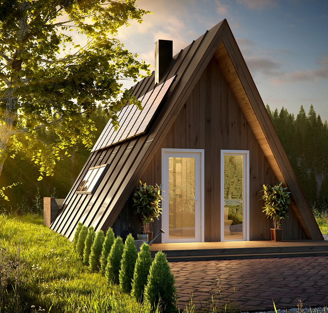A-frame kit homes | Avrame