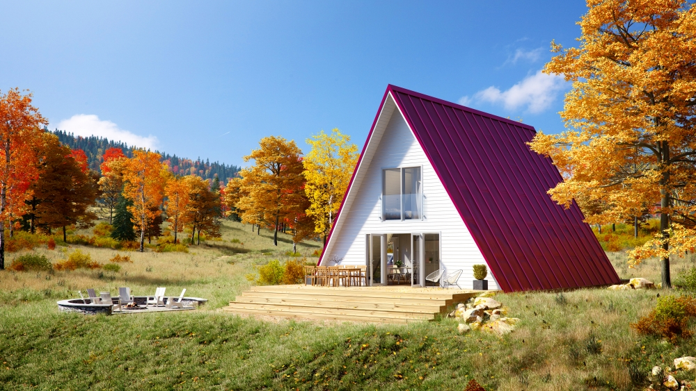 A-frame kit homes | Avrame