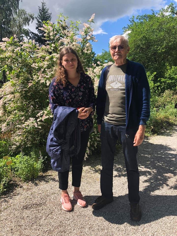 Rein ja Hanna Grete Tartus. Suvi 2020