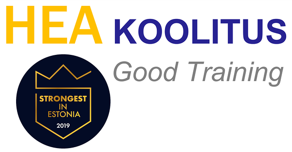 Hea Koolitus / Good Training / Manager: Veiko Värk