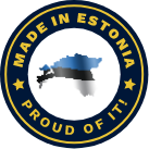 Made in Estonia - Proud of it