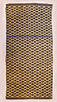Handwoven grey and mustard wool rug from Terra mama e-shop