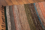 Colorful handwoven rug 90 x 177 cm/35.5 x 70 in from Terra Mama e-shop