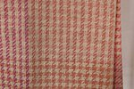 Terra Mama handwoven wool plaid, coloured with mushrooms