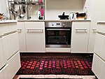 "Terra Mama ""Walking on hot coals"" Double-wefted rug    66 x 202 cm / 26 x 80 in"