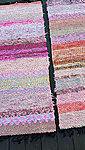 What is good to know before purchasing a handmade weaved rag rug?