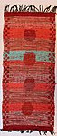 """Old-Time-Story""  double-wefted rug"