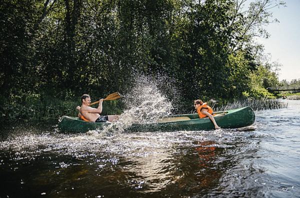 Canoe trips in Estonia - Vanaõue Holiday Centre
