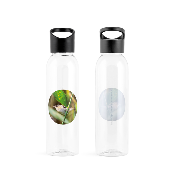 #acrocephalusschoenobaenus Tritan Water Bottle by #naturelovers brand - Photo Gifts & Wall Art for Nature Lovers